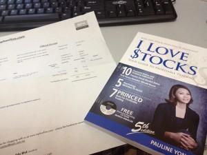 """Buku """"I Love Stock"""" boleh dibeli melalui mphonline"""