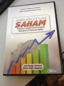 DVD Momentum Saham sangat sesuai untuk newbies